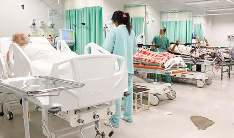 Covid-19 já compromete 50% dos leitos hospitalares de Jacundá