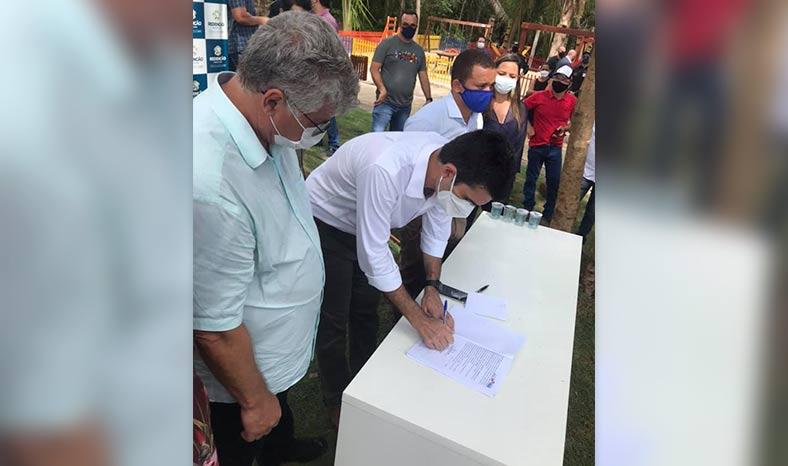 Prefeito de Redenção espera concluir obra de HC em 90 dias