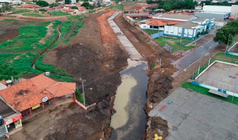Prefeitura de Redenção diz que parte da obra do Canal Central está concluída