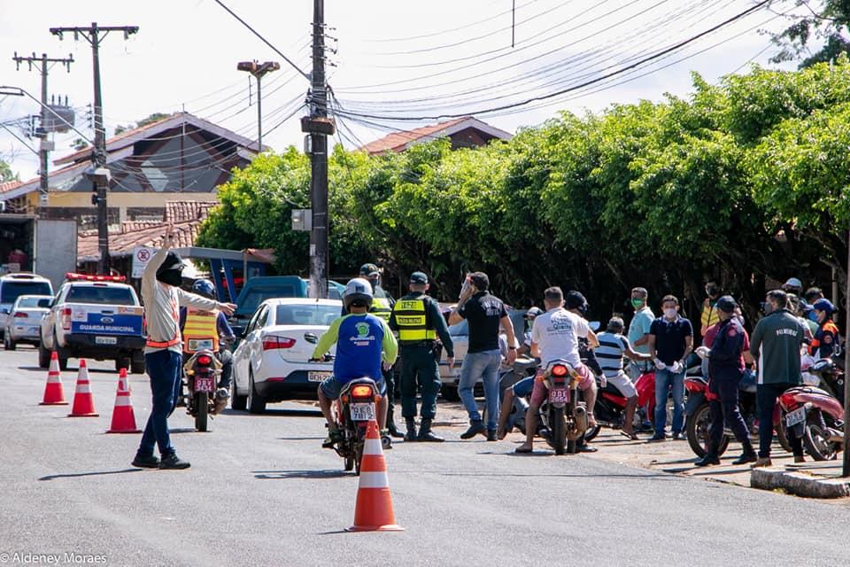 Órgãos de segurança realizam operação integrada em primeiro dia de lockdown em Tucuruí