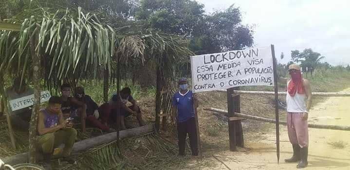 Covid-19: Em Breu Branco, três comunidades bloqueiam entradas por conta própria