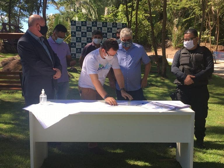 Assinado termo de doação de área para construção de complexo de delegacias em Redenção