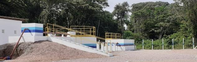 Barcarena inaugura primeira Estação de Tratamento de Esgoto