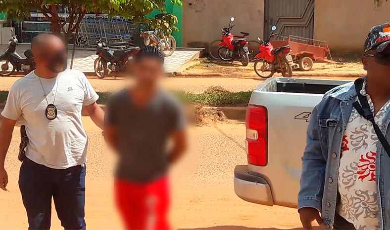 Padrasto preso em Uruará suspeito de estuprar criança de 5 anos de idade