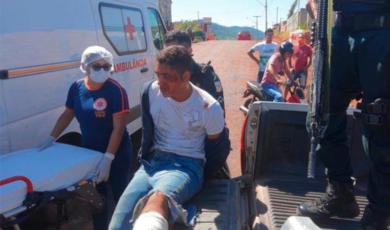 Assaltante é morto na troca de tiros com PM em Canaã dos Carajás