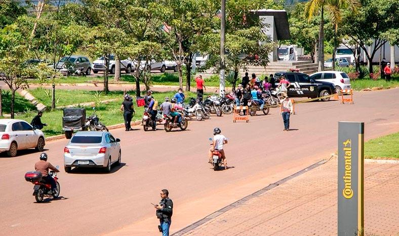 Mais de 3 mil veículos fiscalizados na Operação Lockdown em Tucuruí