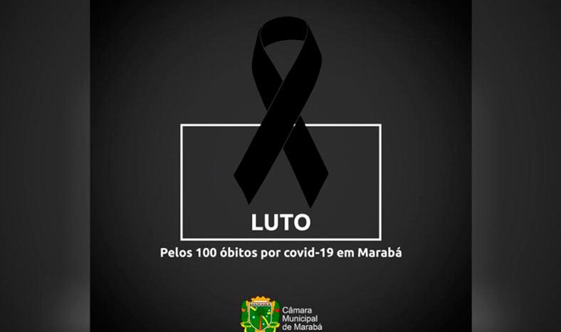 Câmara de Marabá decreta Luto Oficial pela marca de mais de 100 mortes por covid-19