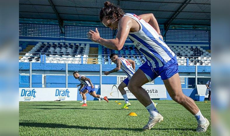 Paysandu Sport Club retornou aos treinos presenciais no Estádio da Curuzu, em Belém