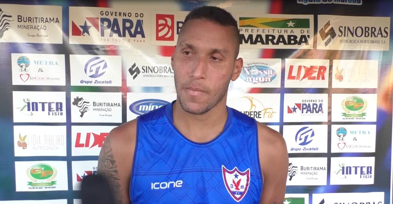 Águia de Marabá contrata o zagueiro Elielton e realiza testes para Covid-19 em seu elenco