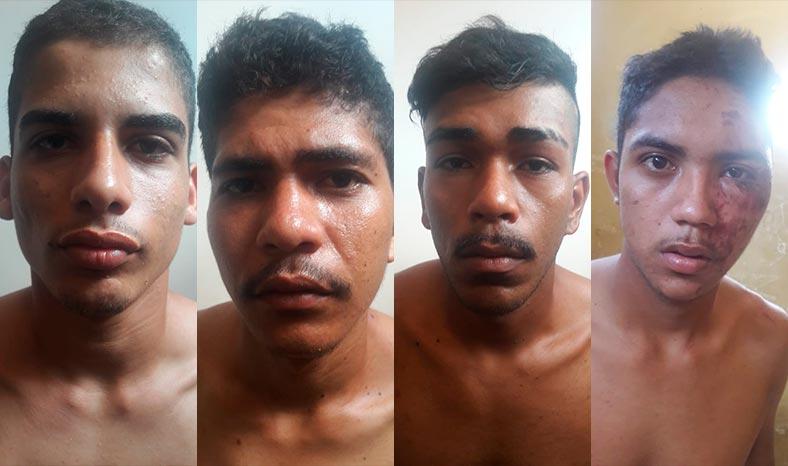 Quatro integrantes da quadrilha que assaltou supermercado estão presos em Canaã