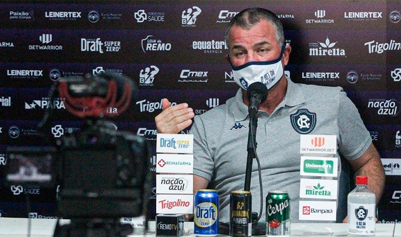 Clube do Remo anuncia duas contratações e técnico Mazola Júnior retorna à Belém