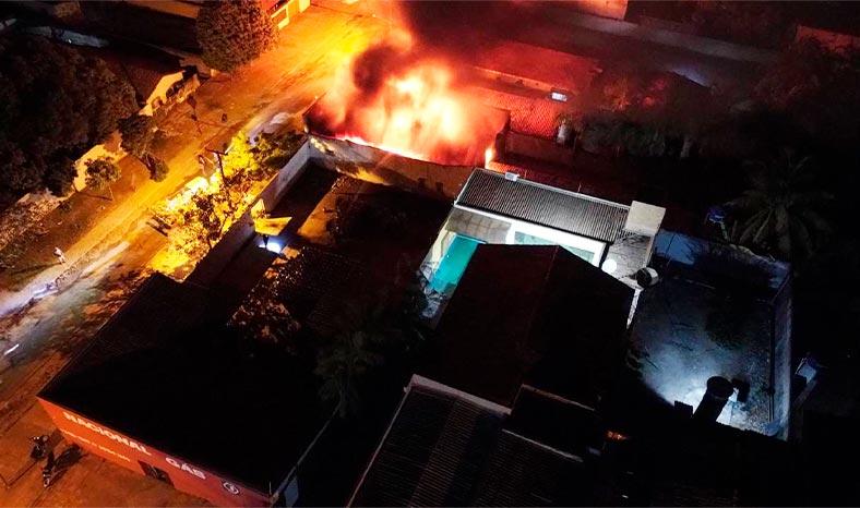Xinguara: Ação da PM com apoio de populares evita explosão em depósito de gás