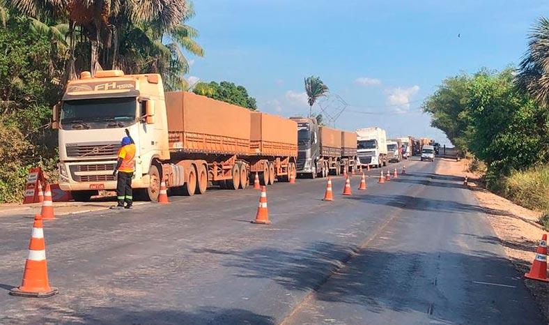 Marabá: Balança instalada na PA-150 já emitiu mais de 20 infrações por excesso de peso