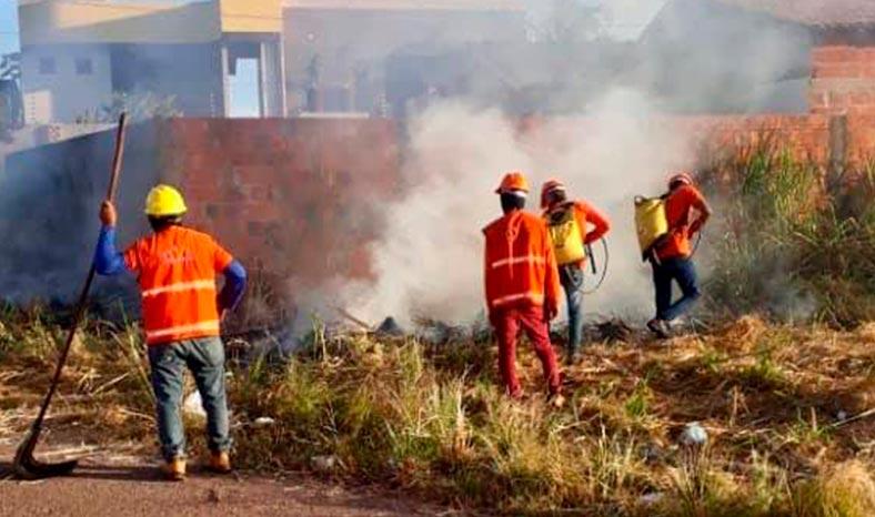 Parauapebas: Município cria Brigada de Emergência para atuar no combate às queimadas