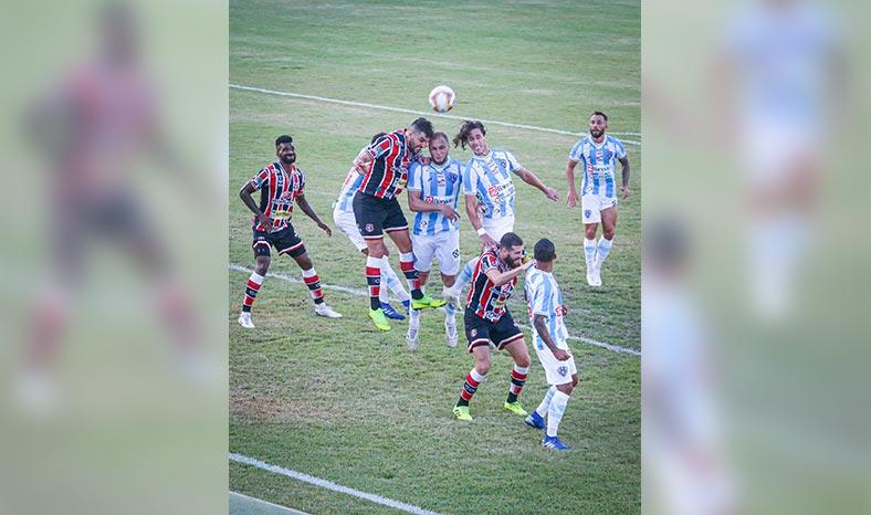 Paysandu empata com o Santa Cruz sem gols na Curuzu pela estreia da Série C 2020