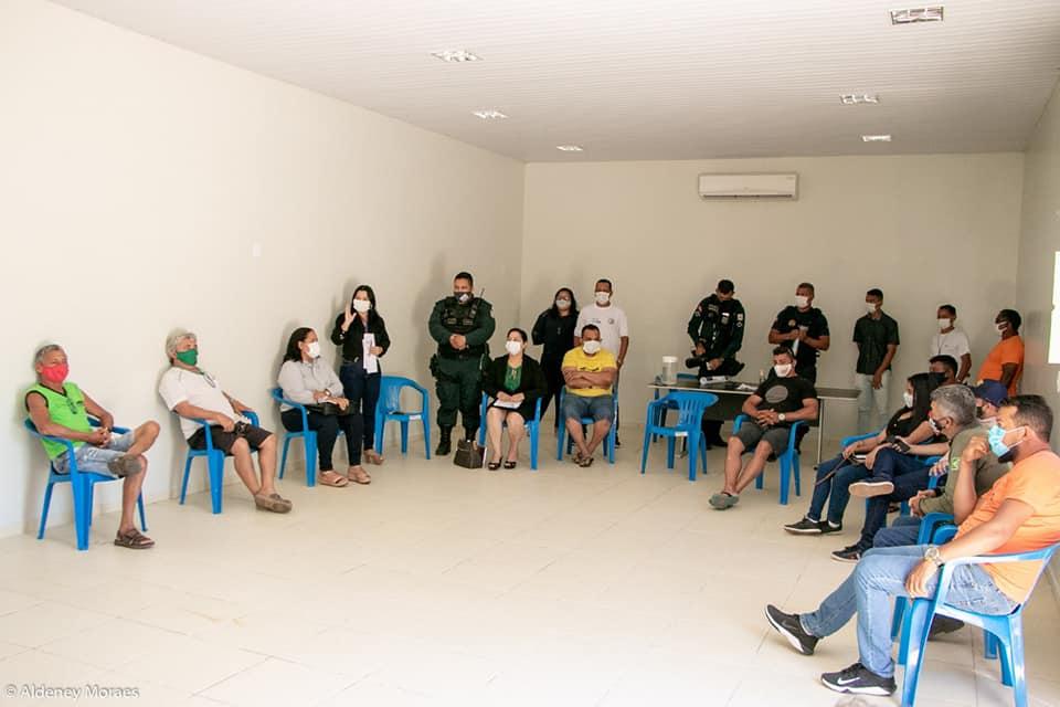 Tucuruí: Reunião debate obrigatoriedade de cumprir medidas preventivas à Covid-19