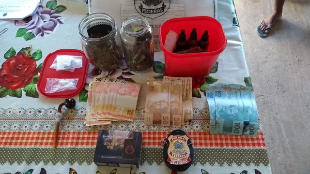 Ourilândia do Norte: PF prende homem acusado de comprar e receber drogas pelos Correios