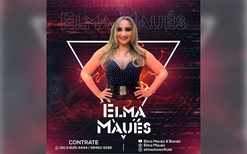 Cantora paraense Elma Maués inicia carreira solo e está ansiosa pelo retorno aos palcos
