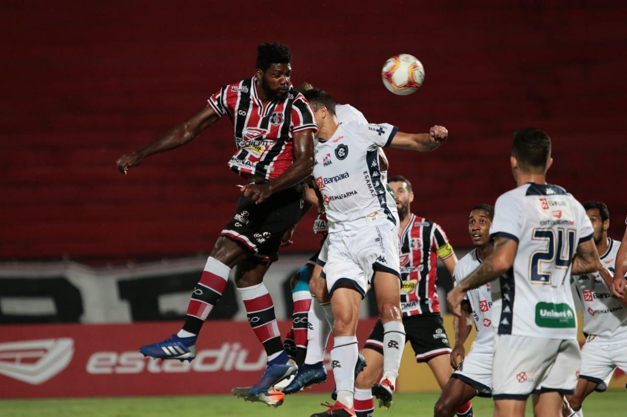 Remo cai para o Santa Cruz no Arruda e perde a invencibilidade no Campeonato Brasileiro