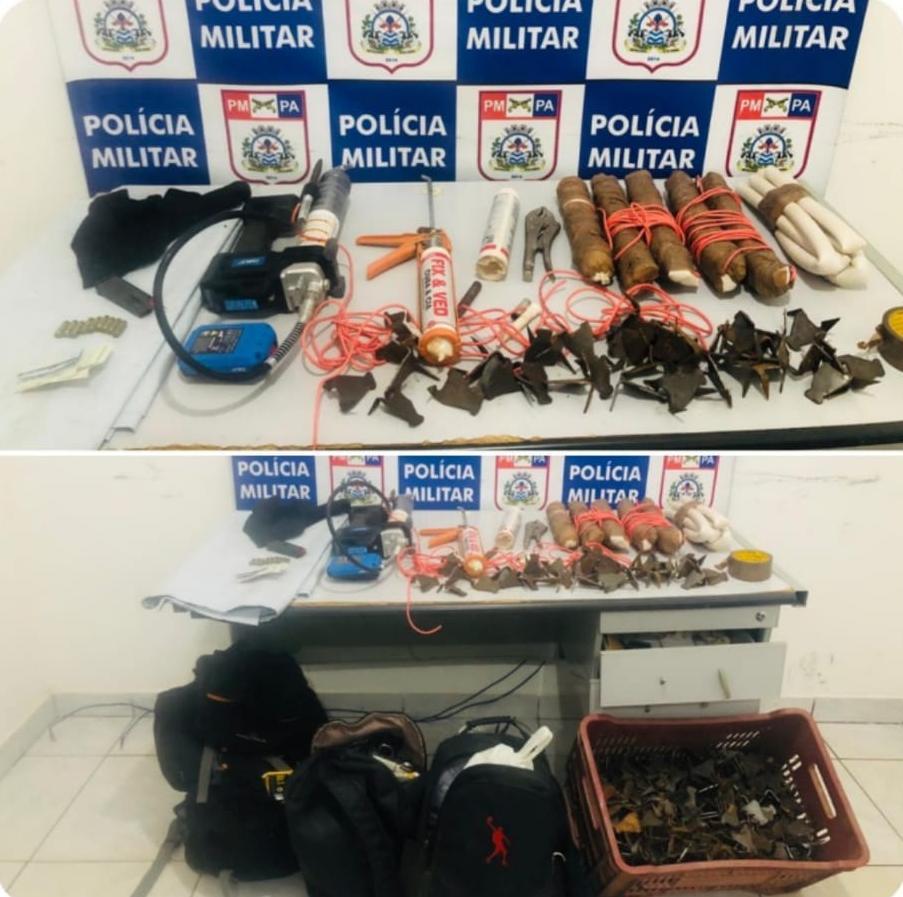 Ourilândia do Norte: Polícia Militar desarticula possível plano de assalto a banco