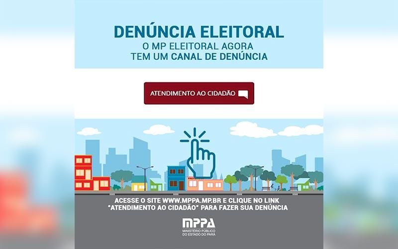 Fiscalização: Ministério Público Eleitoral começa a receber denúncias de crimes eleitorais