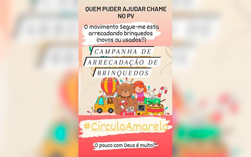 Parauapebas: Movimento Segue-me faz campanha de coleta de brinquedos