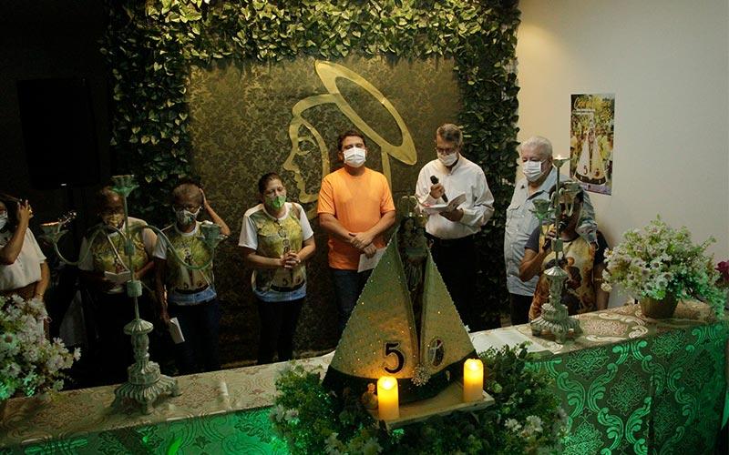 Círio de Tucuruí: Prefeito recebe imagem Peregrina de Nossa Senhora de Nazaré