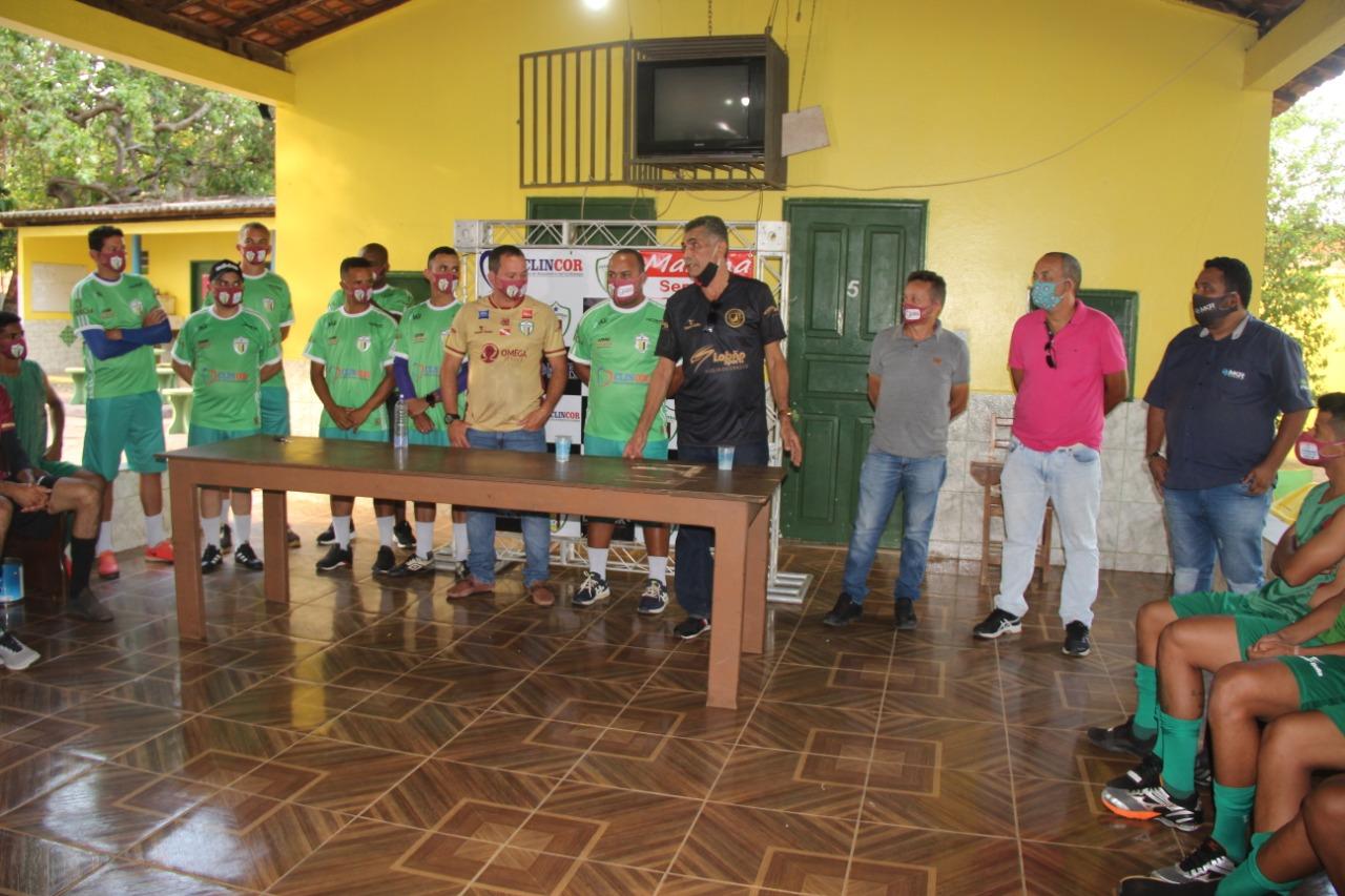 Parauapebas Futebol Clube apresentou seu elenco para a disputa da Segundinha do Parazão