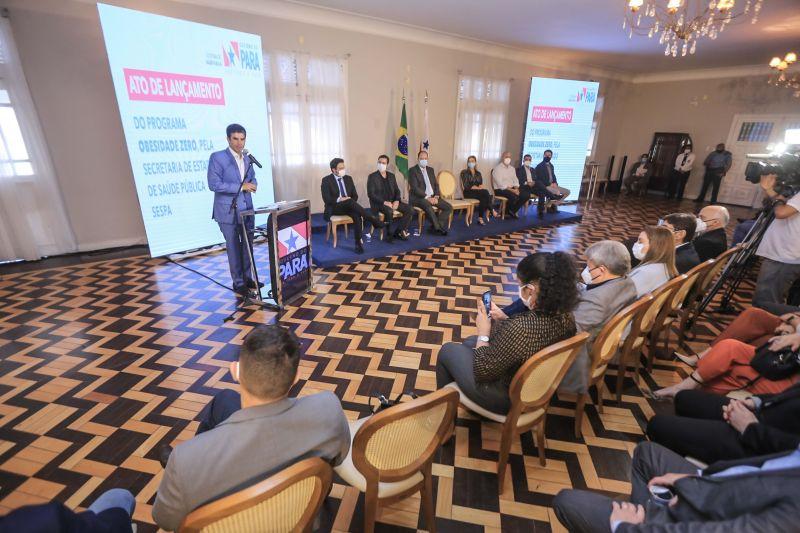 Governador Helder Barbalho lança Programa Obesidade Zero