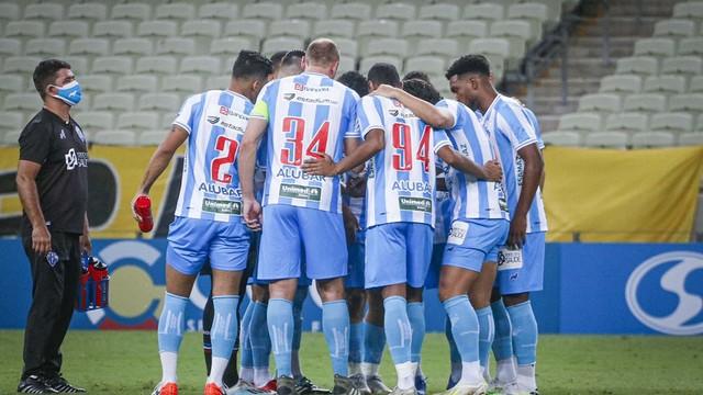 Paysandu vence o Ferroviário na Arena Castelão e entra no G4 do Grupo A do Brasileirão