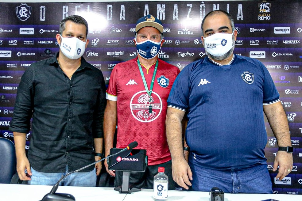 Técnico Paulo Bonamigo está de volta ao Clube do Remo, onde teve boa passagem em 2000