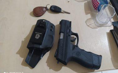 Tucuruí: PM prende mulher embriagada e armada com pistola