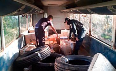 Tucuruí: Homens são presos transportando coletes balísticos em ônibus