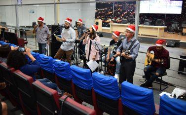 Parauapebas: Banda de Música de Servidores da CMP faz Cantata de Natal