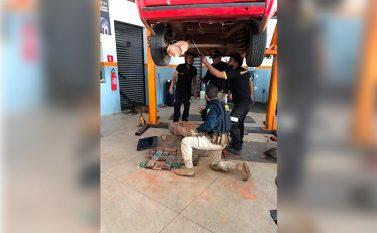 Marabá: Com ajuda de cão farejador PRF apreende 22 kg de cocaína