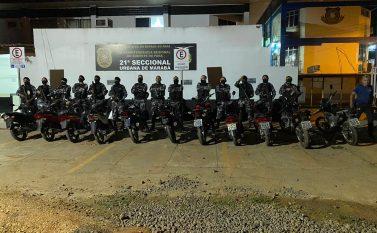 Polícia Militar recupera 11 motos roubadas em Marabá