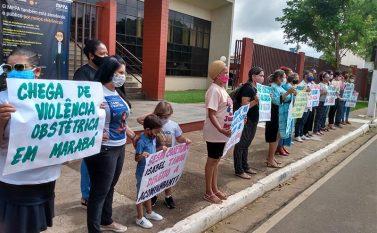 Marabá: Familiares de parturiente morta no Hospital Regional protestam