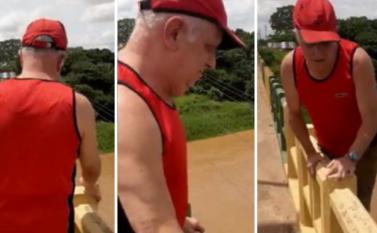 Turista idoso desaparece após tentar gravar vídeo e cair de ponte em Marabá